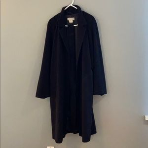 Classic Vintage Barney's Ny Wool Trench Coat